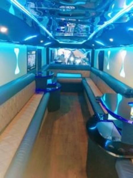 Party Bus For Atlanta | Gab'Ash Prestige Bus | 25 Passengers