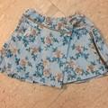 写真: 56. Bluemarine baby ブルー花柄スカート サイズ3歳 15SGD