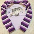 写真: 68. D&G ピンク&紫 トップ サイズ2-3歳 10SGD