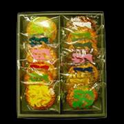琉球黒糖ザラメ入り煎餅