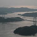 Photos: 110508-72亀老山展望台からの来島海峡大橋(2/3)