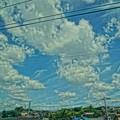 写真: 車窓からHDR