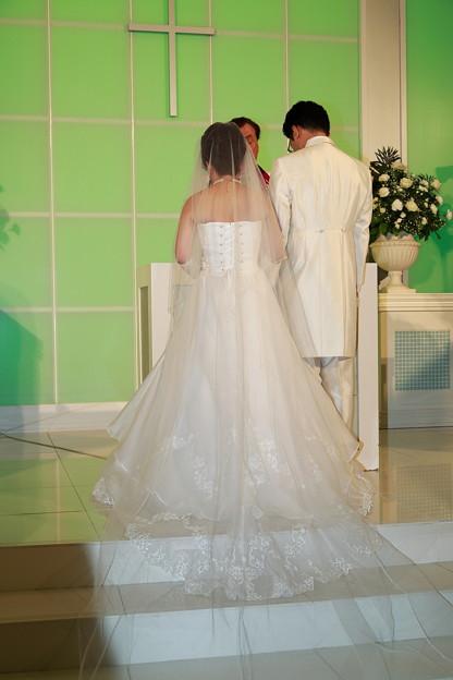 結婚式場の教会