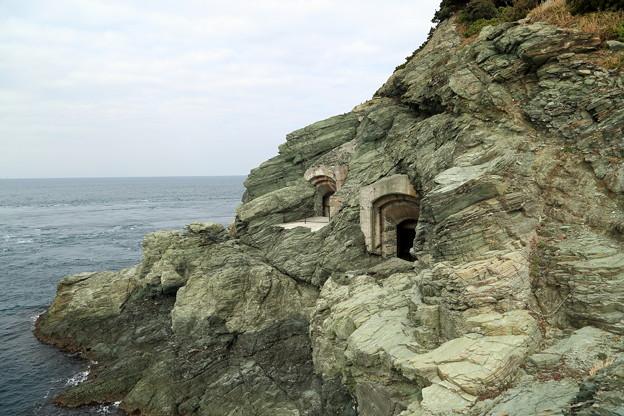 豊予要塞・御籠島穹窖砲台