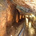 写真: 尾去沢鉱山 坑道内部5