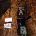 写真: 尾去沢鉱山 坑道内部12