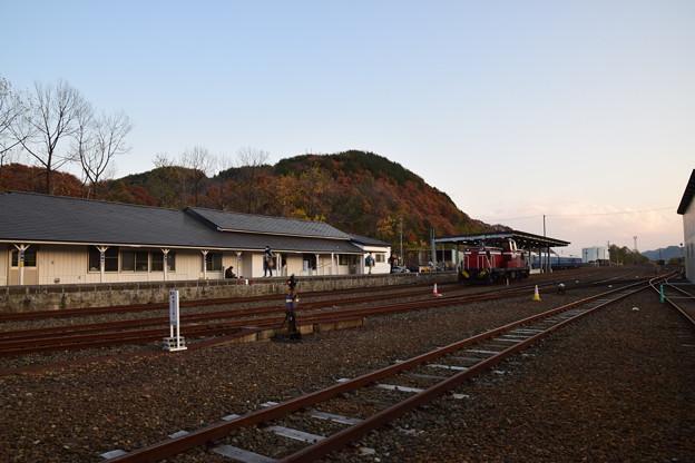 写真: 小坂鉄道レールパーク 小坂駅3