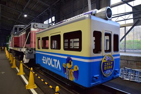 小坂鉄道レールパーク エボルタ電池機関車