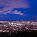 写真: 藻岩山夜景
