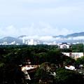 写真: テラスからの景色。