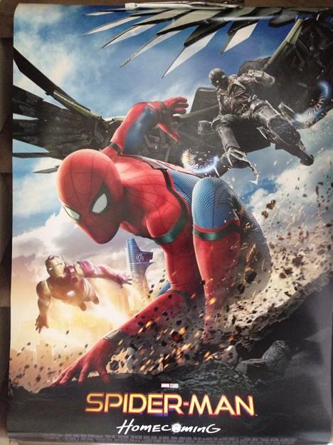 スパイダーマン ホームカミング ポスター
