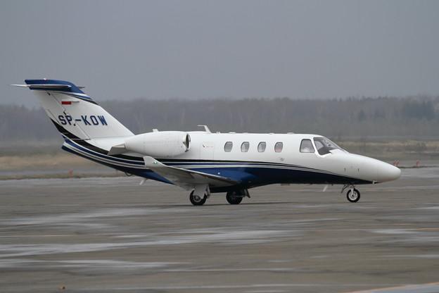 Cessna525 CitationM2 SP-KOW (2)