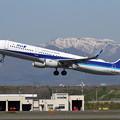 写真: A321ceo JA111A takeoff