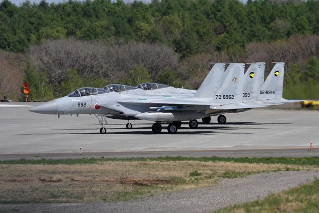 F-15J 201sqと306sqの機体