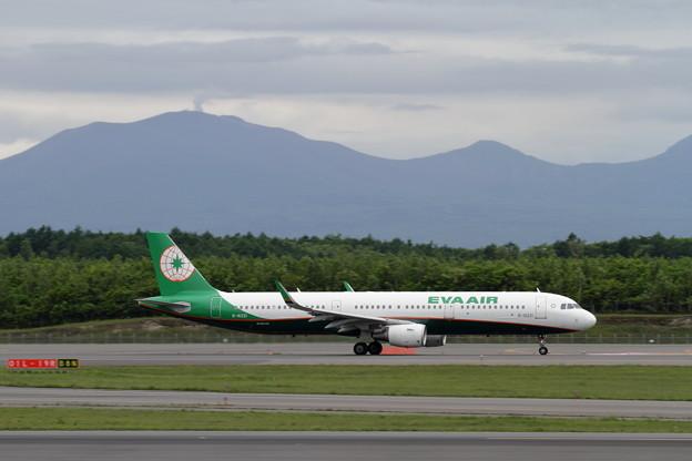 A321 EVA AIR takeoff roll