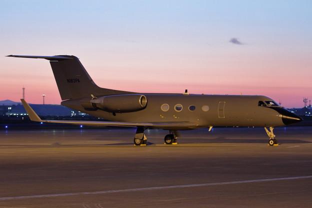 Photos: Gulfstream III G-1159A N163PA stay