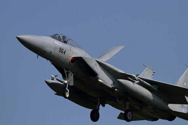 Photos: F-15J Alert機 approach