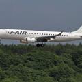 Photos: Embraer ERJ-190STD JA244J approach