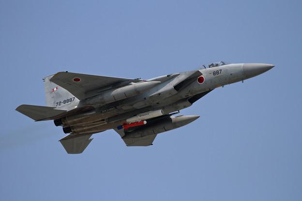 Photos: F-15 203sq 887+Target