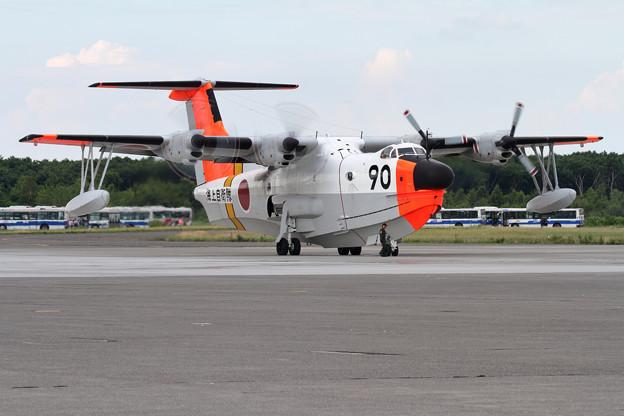 "US-1A 9090 ""IVORY"" 帰投"