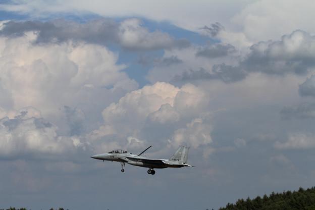 F-15と雲 (1)