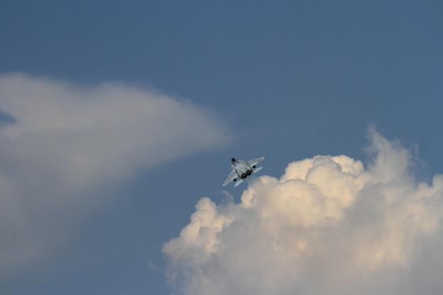 F-15と雲 (2)