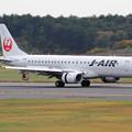 Photos: ERJ-190STD JA243J landing