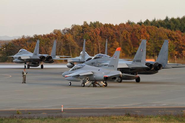 F-15 203sq Night TRGへ (2)