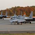 写真: F-15 203sq Night TRGへ (2)