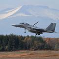 写真: F-15DJ 075 203sq landing