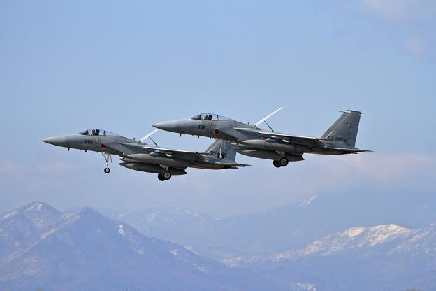 F-15J 203sq Formation approach