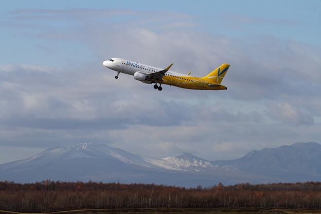 写真: A320 冬がそこまで