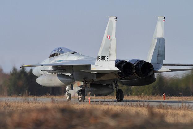 F-15 203sq 帰投 (2)