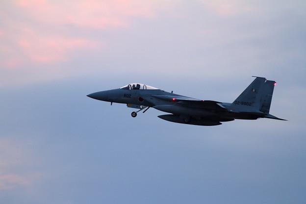 写真: F-15 203sq go around