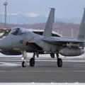 写真: F-15J 802 帰投 (2)