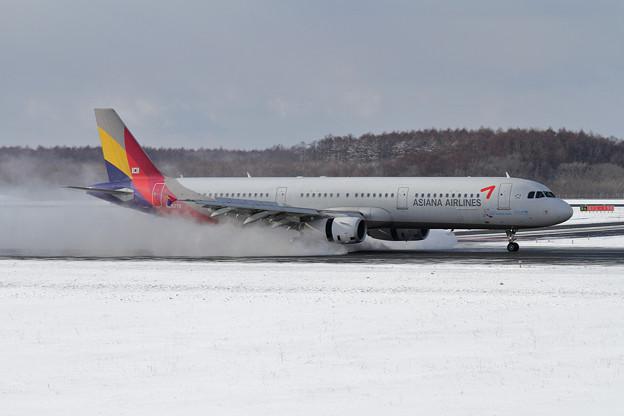 A321 Asiana reverse