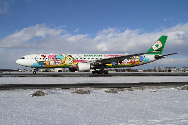 A330 EVA Air Sanrio Dream Jet B-16332