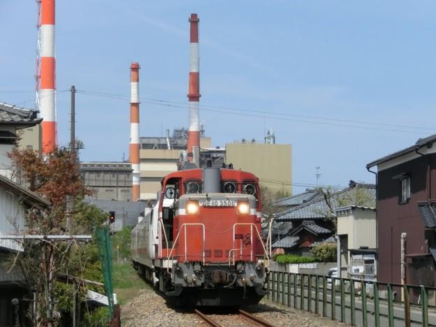 """DE10 3501+キヤE193系""""East-iD"""" 焼島貨物線検測 返却"""
