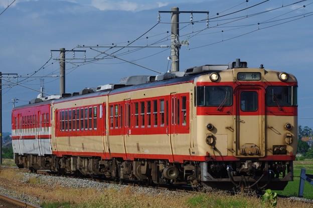 """キハ47 1514+キハ48 523(国鉄急行色)+キハ47 1511 """"サイクルトレインちゃりっ子"""""""