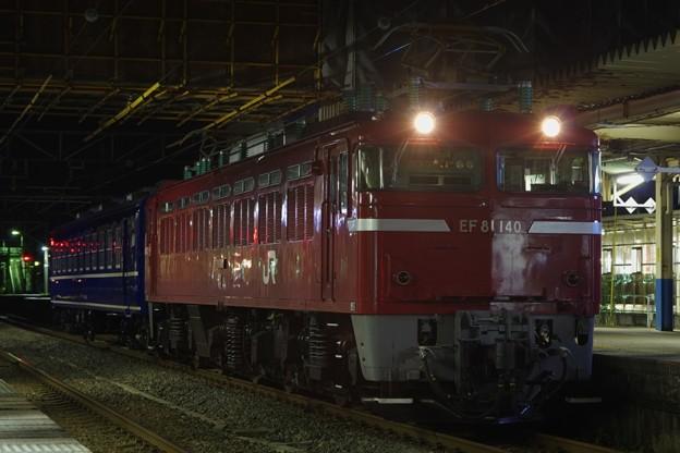 EF81 140+オハ12 368 AT出場配給