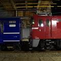 写真: EF81 140+オハ12 368 AT出場配給