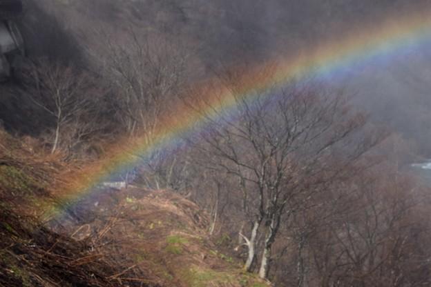 虹の根元♪
