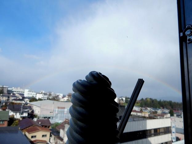 マルカンソフトと虹♪
