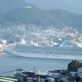 サファイア・プリンセスの出港