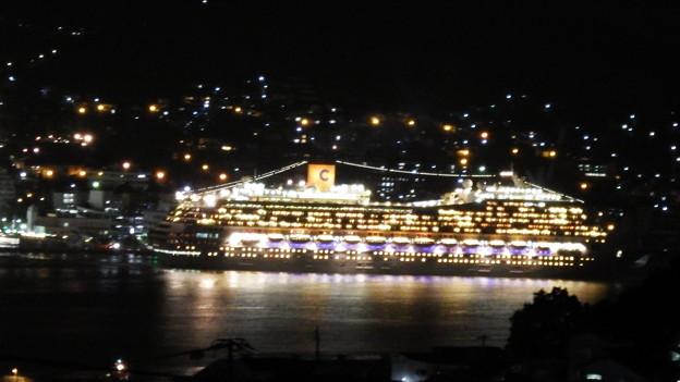 コスタ・フォーチュナの出港