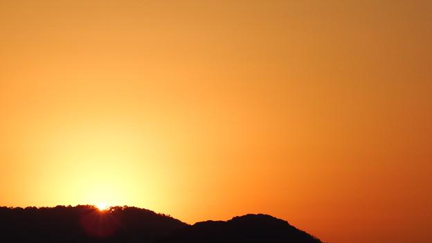 写真: きょうの日の出