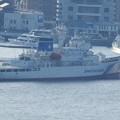 巡視船 こじまの出港