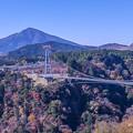 2017 夢大吊橋の紅葉