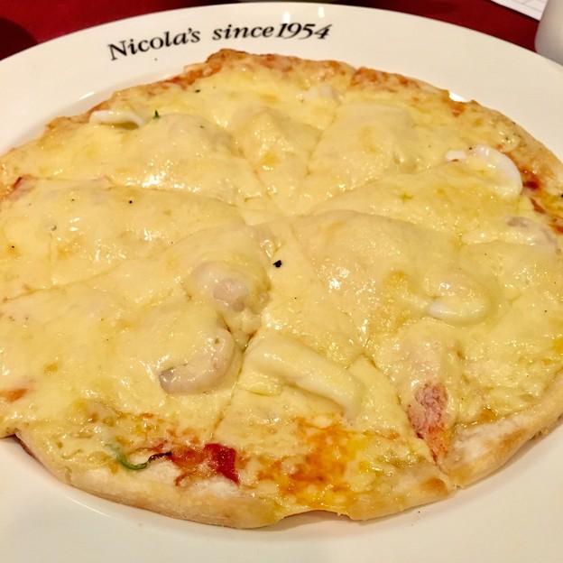 新橋/ニコラス/ニコラスオリジナルシーフードピザ