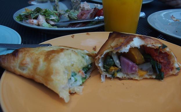 緑化フェア『パイホリック』で軽食